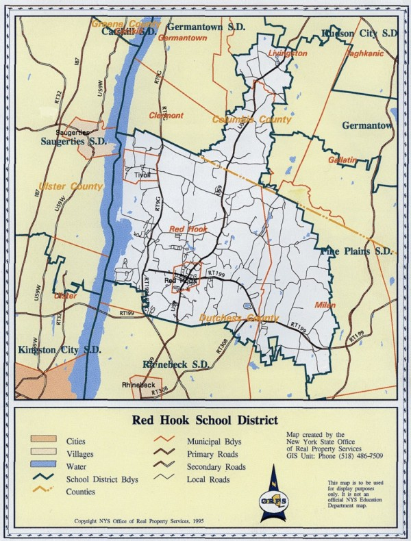 All About RHCSD / District Map