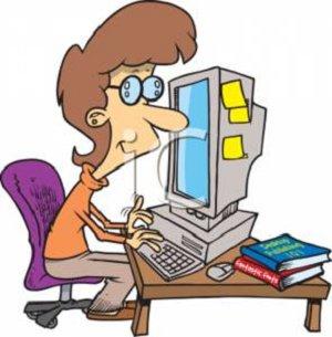 computer girl